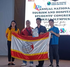 Dominicans Win at the 13th UFTE National Tourism Skills Olympics