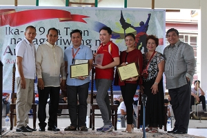 SDCA Receives a Plaque of Recognition from the Maragondonians