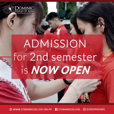 ADMISSION FOR SECOND SEM