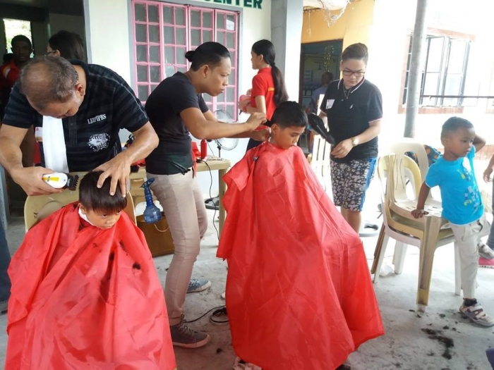 SDCA offers Free Kids' Haircut
