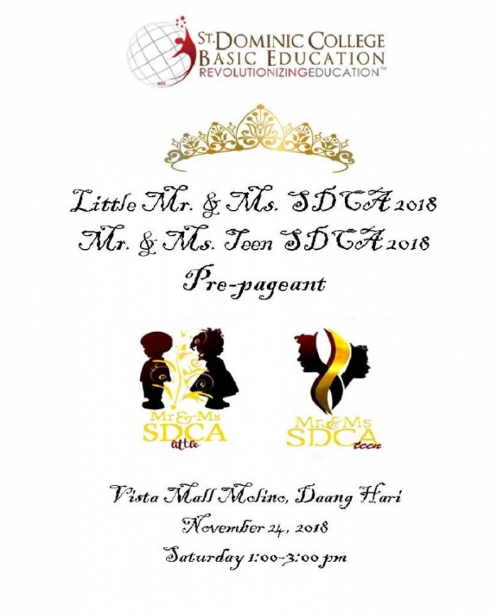 Mr. & Ms. Little/Teen  SDCA Coronation Night (off Air)
