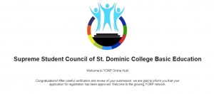 Supreme Student Council is now YORP registered