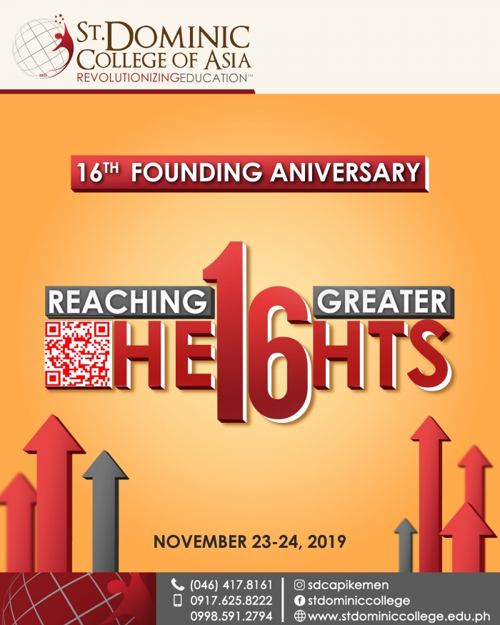 16th Founding Anniversary